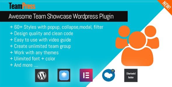 TeamPress - Team Showcase plugin