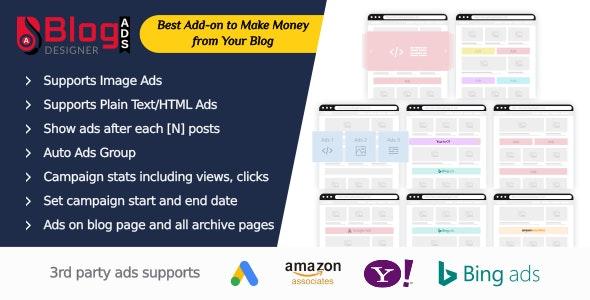 Blog Designer Ads - CodeCanyon Item for Sale