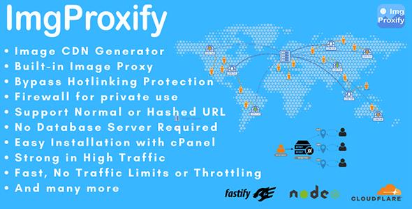 ImgProxify - Image CDN and Image Proxy Generator
