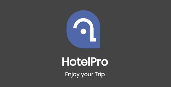 HotelPro - Flutter Template UI Kits