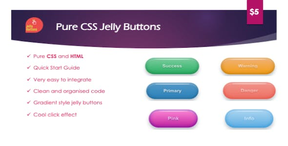 CSS Jelly Buttons