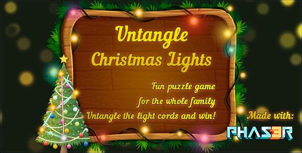 Untangle: Christmas Lights