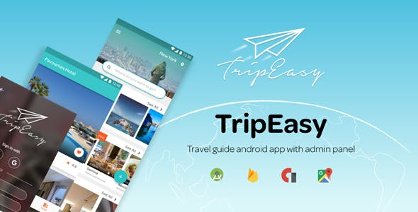 TripEasy - An Android Trip Guide / Advising Template App