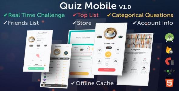 Quiz Mobile (Mutual Quiz Challenge)