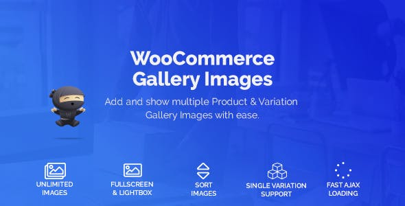 WooCommerce Product & Variation Gallery Images