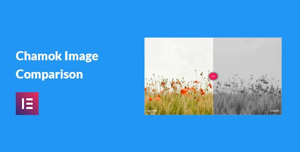 Chamok Image Comparison - Image Before After Addon For Elementor