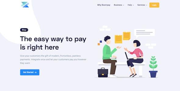 Boompay v3.2 - Modern Payment Gateway