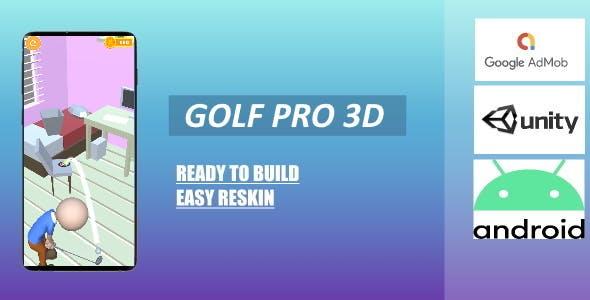 Golf Pro 3D (Unity - Admob)