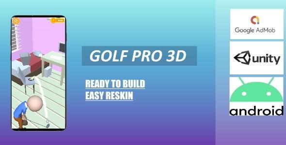 Golf Pro 3D (Unity - Admob) - CodeCanyon Item for Sale