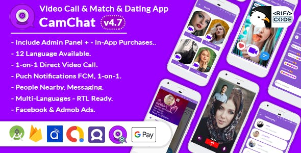 CamChat v4.7 - Dating, Match, Meet New People, Video Call, Chat