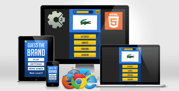 Guess the Brand - HTML5 Quiz Game - CodeCanyon Item for Sale