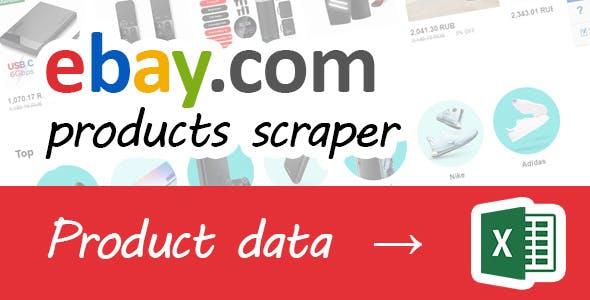 Ebay products scraper .NET