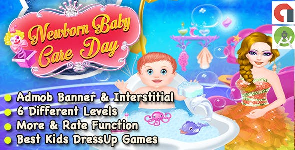 Best New Baby Born Care Day Game For Kids + Ready For Publish + Android