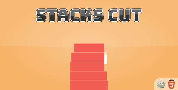 Stacks Cut - HTML5 Casual Game