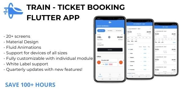 Booking App - Flutter - CodeCanyon Item for Sale