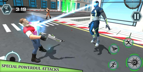 Punch Superhero Battleground: World War Simulator - CodeCanyon Item for Sale