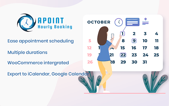 Apoint - Hourly Booking WordPress Plugin - CodeCanyon Item for Sale