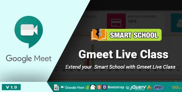 Smart School Gmeet Live Class - CodeCanyon Item for Sale