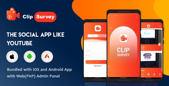 Clip Survey - Online Video Review Tool |  Customer Feedback/ Survey through Video - Android & IOS