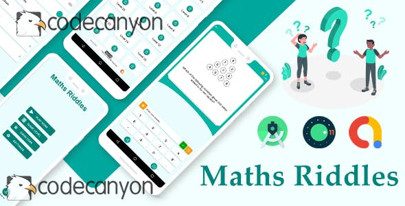 Math Riddles - Math Game with admob ready to publish