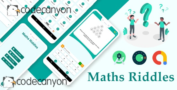 Math Riddles - Math Game with admob ready to publish - CodeCanyon Item for Sale