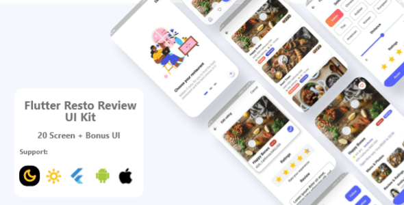 Flutter Restaurant UI Kit