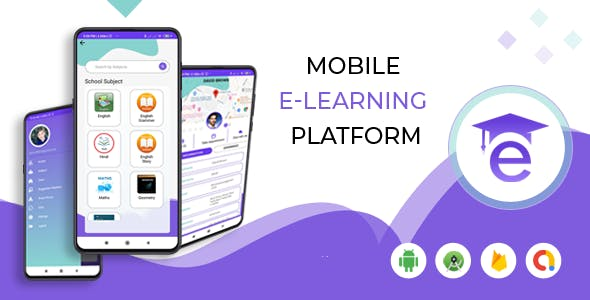E-Guru Tutor App :- Android App with Admin Panel ( Teacher Student App), PayPal, Razor Pay, Firebase