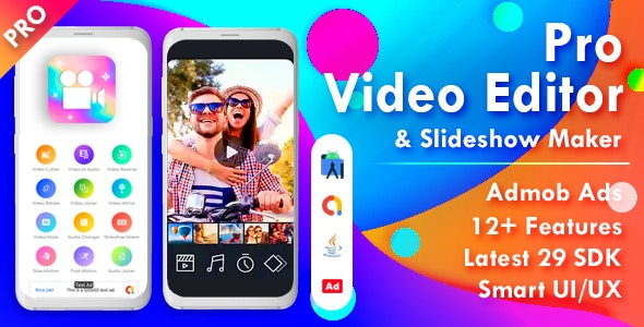 Pro Video Editor & Photo Video Maker for Android - CodeCanyon Item for Sale