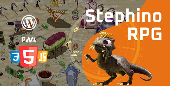 Stephino RPG Pro | WordPress Game - CodeCanyon Item for Sale