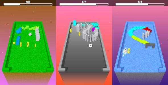 Unity Game Template - Domino Breaker
