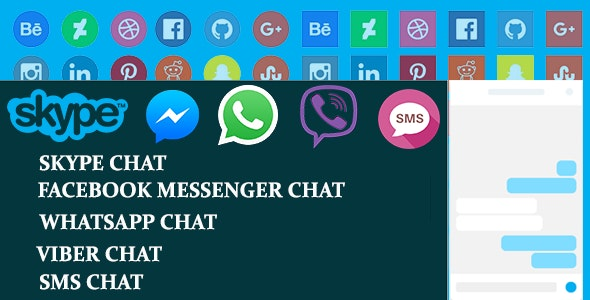 Social Tabs Live Chat For WordPress - CodeCanyon Item for Sale