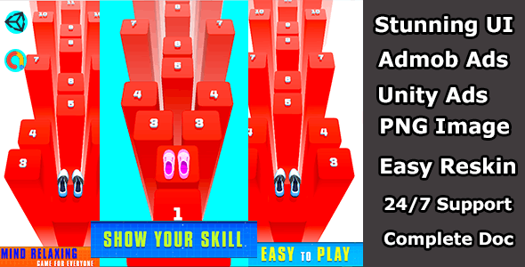 Hop Jump Unity Complete Source Code - CodeCanyon Item for Sale