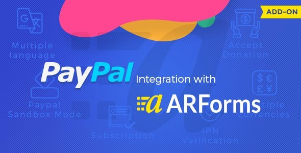 Paypal Addon for Arforms