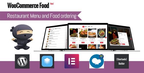 WooCommerce Food - Restaurant Menu & Food ordering