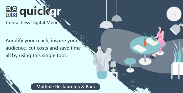 QuickQR - Saas - Contactless Restaurant QR Menu Maker - CodeCanyon Item for Sale