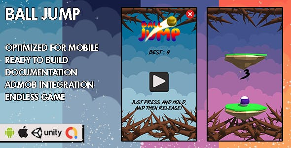 Ball Jump - Unity Game - Android Hypercasual Game