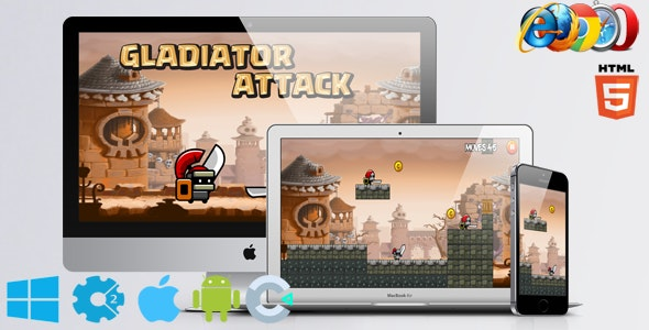 Gladiator Attack - CodeCanyon Item for Sale