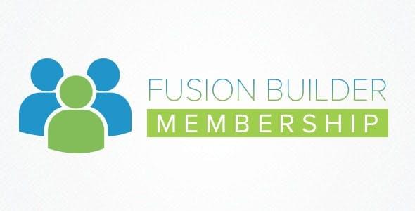 Fusion Builder Membership