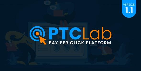 ptcLAB v1.1 – Pay Per Click Platform – nulled