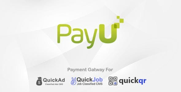 Payumoney Payment Plugin For QuickAd QuickJob QuickQR