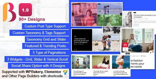 News & Blog Designer Pack Pro - News and Blog Plugin for WordPress and Elementor - CodeCanyon Item for Sale