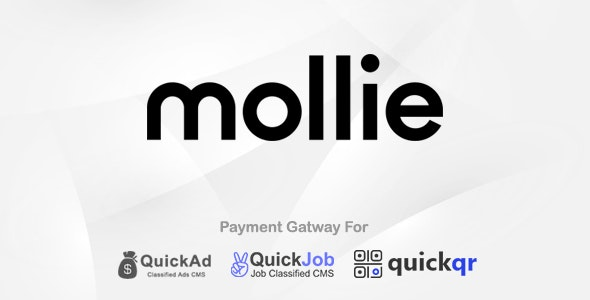 Mollie Payment Plugin For QuickCMS - CodeCanyon Item for Sale