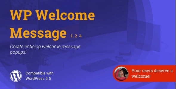 WP Welcome Message | WordPress Popup Message Plugin - CodeCanyon Item for Sale
