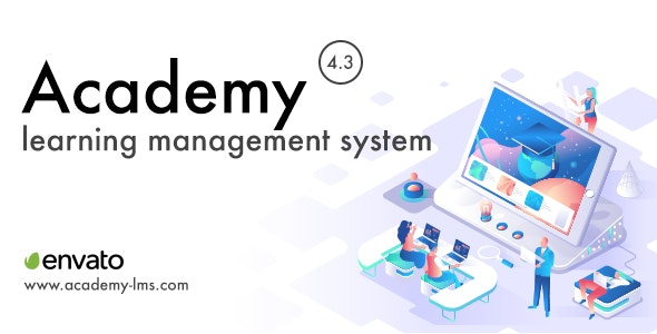 Academy Learning Management System - CodeCanyon Item for Sale