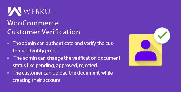 WooCommerce Customer Verification