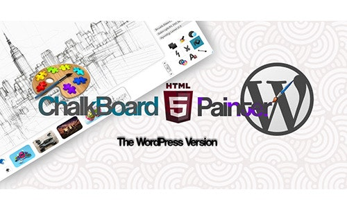 ChalkBoard Painter For WordPress - CodeCanyon Item for Sale