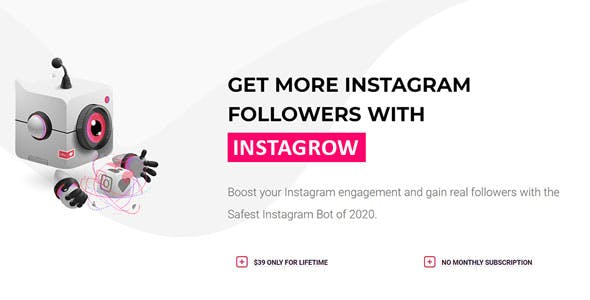 Instagram automation tool - InstaGrow