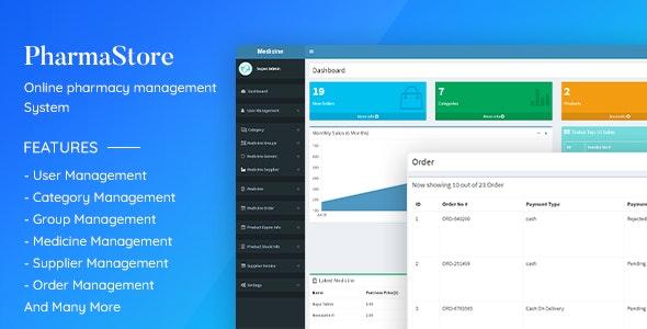 PharmaStore - Online Pharmacy Management System - CodeCanyon Item for Sale