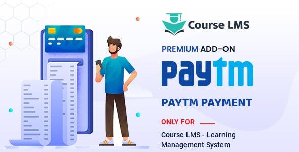Course LMS Paytm Addon