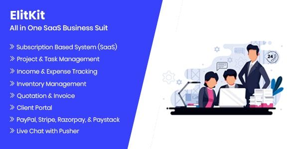 ElitKit v1.7 – SaaS application for business